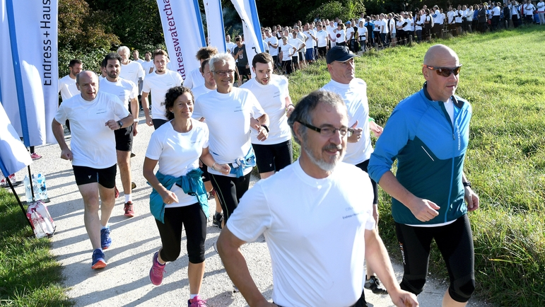 Старт Endress+Hauser Water Challenge в Райнахе